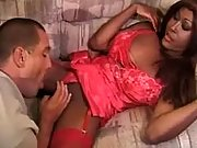 Man hard fucked by tranny
