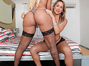 The ultimate tranny threesome! with Rafaella Ferrari and Juliana Souza!