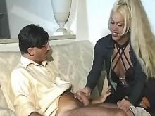 VIP blond ts slut in first rate sex